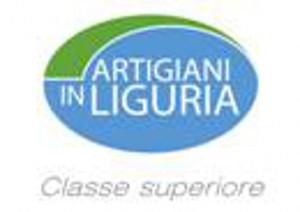 """logo marchio """"artigiani in Liguria classe superiore"""""""