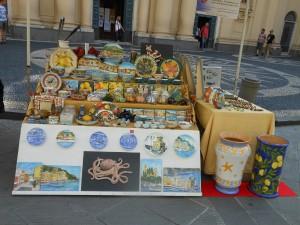 banchetto in piazza Caprera