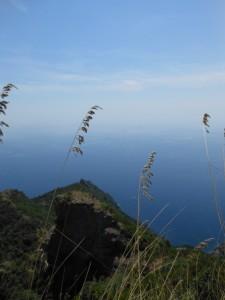 Mare e cielo dal monte di Portofino