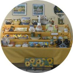 esposizione ceramica- mostra del Tigullio