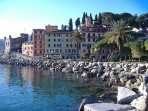 S. Margherita L.  il castello sul mare