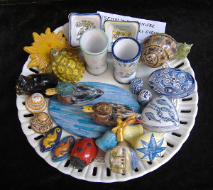 Esempi per bomboniere in ceramica