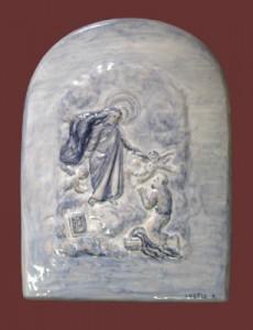 ceramica della Madonna di Mont'allegro