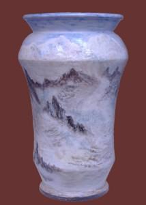 vaso Monte Bianco