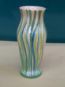 vaso in ceramica fatto a mano