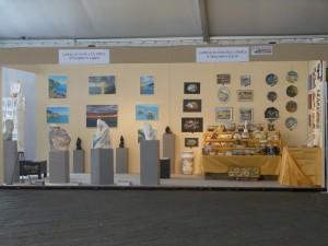 Ceramica Lustig alla mostra del Tigullio a Chiavari