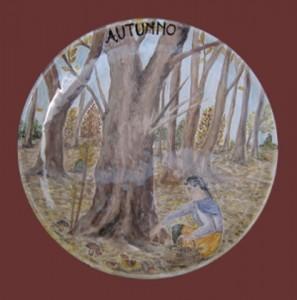 piatto 4 stagioni, autunno