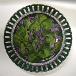 piatto viole