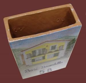 cassetta in ceramica portalettere