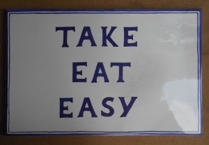 piastrella take eat easy