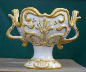 Coppa in ceramica fatta a mano, handmade