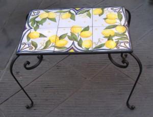 tavolino limoni