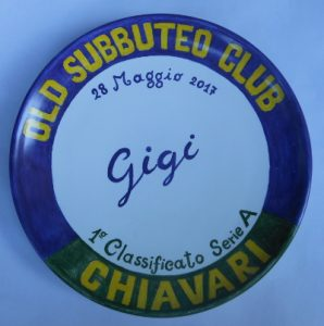 Piatto premio Subbuteo Club