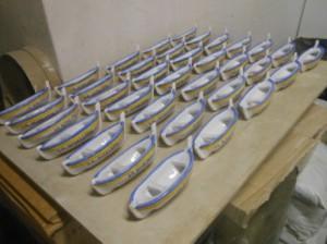 gozzi in ceramica interamente fatti a mano
