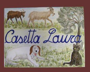 Cane, gatto, capre, la fattoria