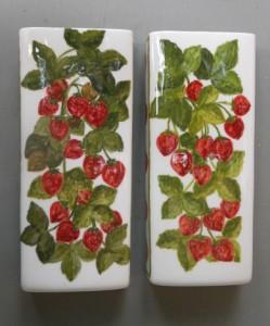 evaporatori in ceramica dipinti a mano