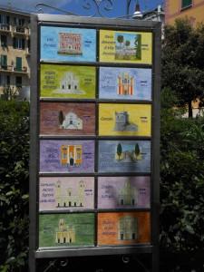cartello di segnalazione siti di interesse turistico