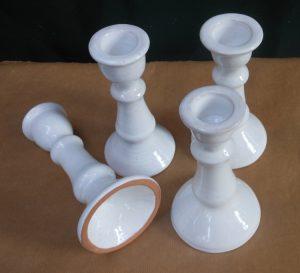 Portacandela in ceramica handmade in italy