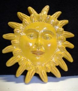 sole in ceramica da appendere