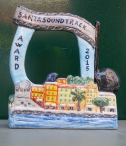 Santasoundtrack premio in ceramica