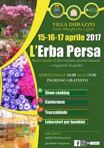 L'Erba Persa, esposizione a Villa Durazzo, S. Margherita Ligure