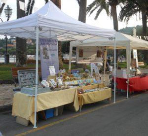 Esposizione sul lungomare di Rapallo