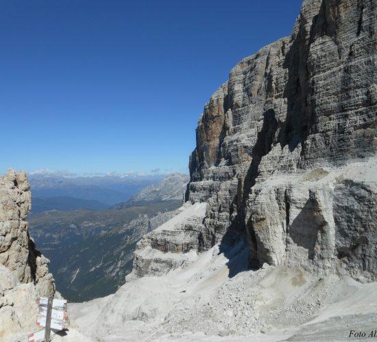 Dolomiti del Brenta, la Vedretta dei Camosci