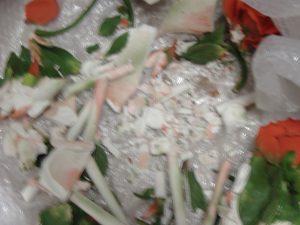 Restauro di porcellana in frantumi