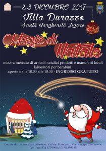 Evento a Villa Durazzo Santa Margherita Ligure: Magie di Natale
