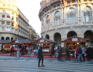 Mercatale in piazza De Ferrari