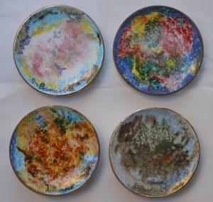 piattini diametro 15 cm 4 stagioni