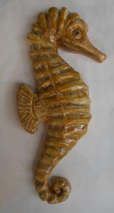 Cavalluccio marino modellato a mano