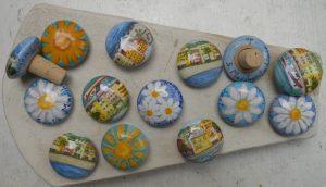 tappi in ceramica con sughero