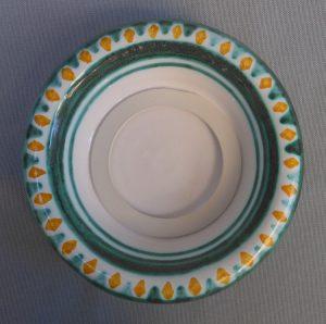 Sottobottiglia in ceramica fatto amano