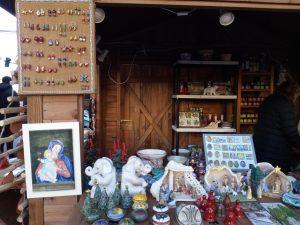 Natale a Genova esposizione Ceramica Lustig