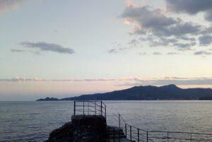 Profilo del monte di Portofino