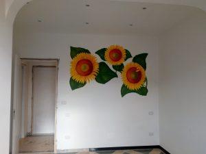 Decorazione a parete di interni