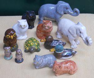 Animaletti in ceramica per bomboniere