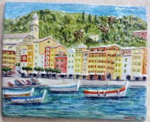 Portofino dipinto amano