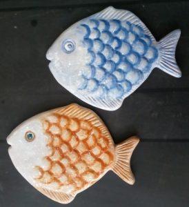 Sottopentola a forma di pesce