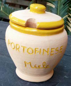 Vasetto per miele in ceramica