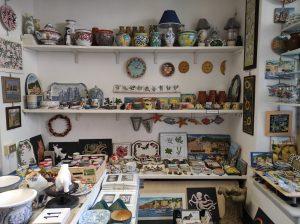 Negozio-laboratorio di ceramica S. Margherita Ligure
