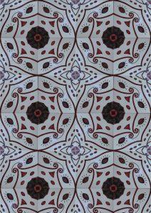 Piastrelle dipinte a mano per pavimento o pareti