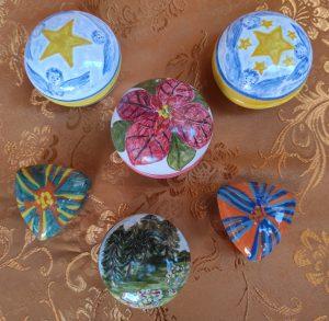 Regali di Natale di artigianato artistico pezzi unici