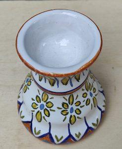 Ceramica reggi candela pasquale