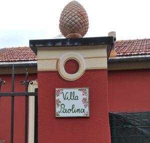 Ceramica per ingresso villa