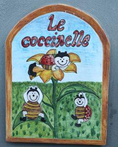 Ceramica le tre coccinelle